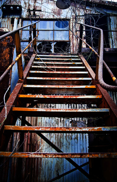 Duquesne Steel Works: Stairs