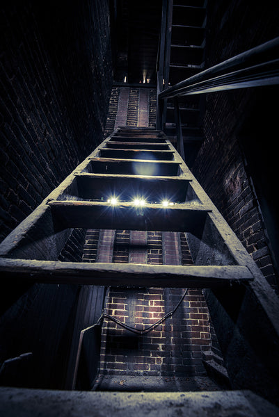 Engine House No. 16: Attic Ladder