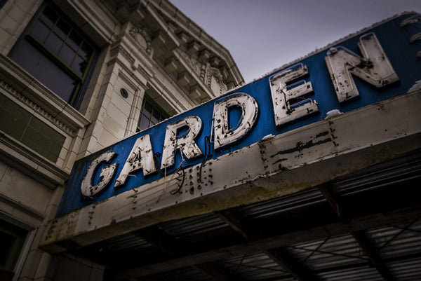 Garden Theater: Marquee