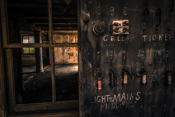 Wilkinsburg Train Station: Cellar