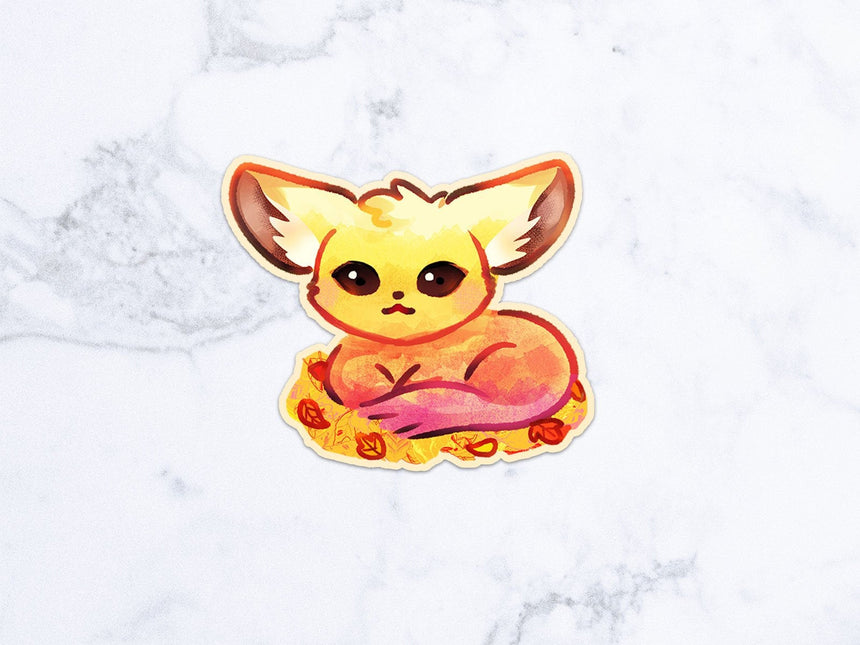 "Kirby pancakes 3"" Sticker, Magical Pastel Kawaii Sticker"