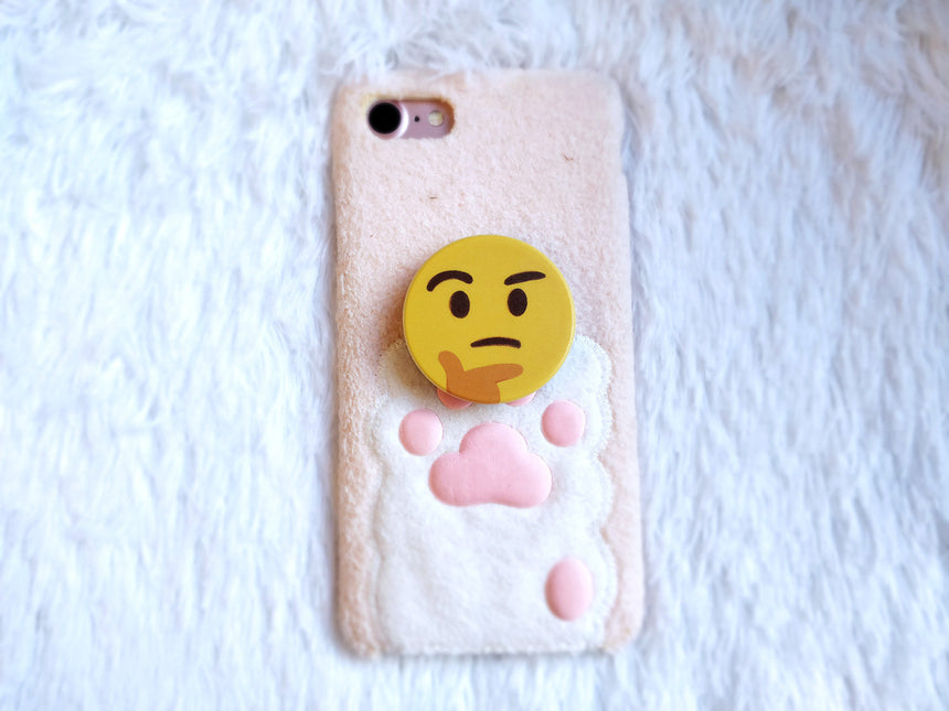 "Thinking Emoji 1.5"" Expandable Pull Out-Up Phone Grip"