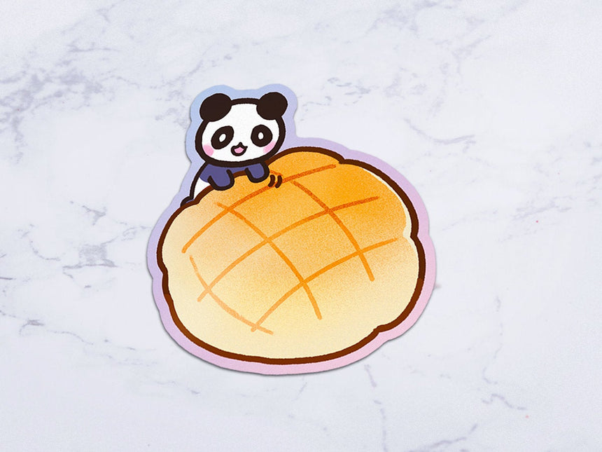 "Melon Panda Melonpan 3"" Sticker"