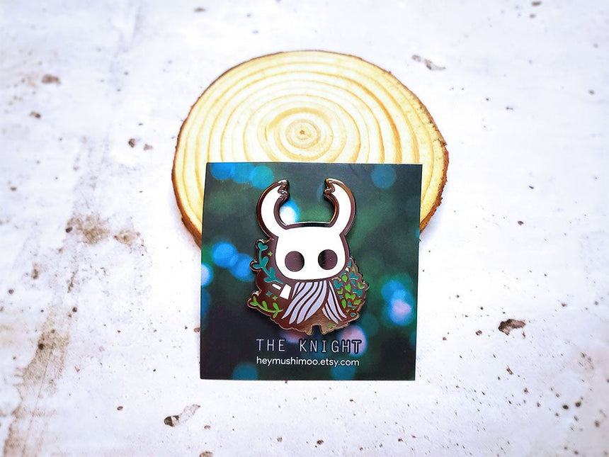 "1.5"" Hollow Knight The Knight Pin Enamel Pin"