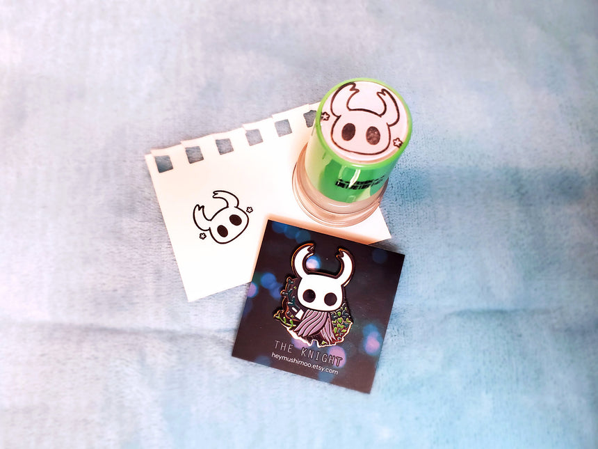 "Hollow Knight The Knight 1"" Self Inking Stamp"
