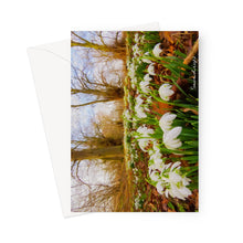 Load image into Gallery viewer, Snowdrops Greeting Card