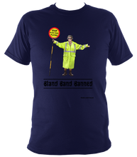 Load image into Gallery viewer, Bland Band Banned - Super Soft Heavy Tee