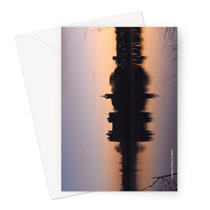 Linlithgow Palace Sunsrise Greeting Card
