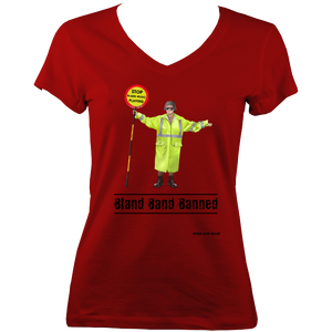 Bland Band Banned - V-Neck