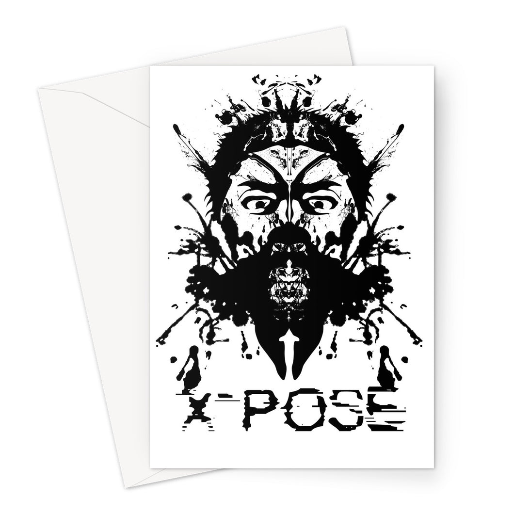 X-Pose Greeting Card