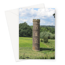 Load image into Gallery viewer, Camo Park Tower, Edinburgh, Scotland Greeting Card