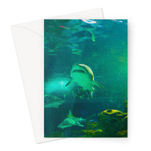 Load image into Gallery viewer, Sharks Greeting Card