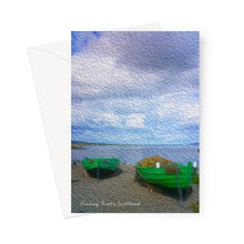 Load image into Gallery viewer, Fishing Boats Greeting Card