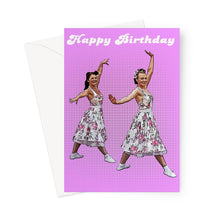Load image into Gallery viewer, Dancers Birthday Greeting Card