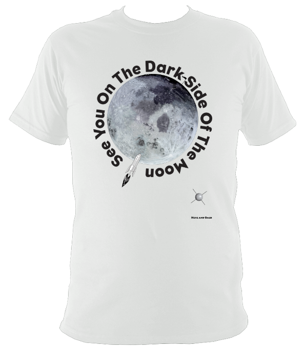 See You On The Dark Side Of The Moon - Super Soft Heavy Tee