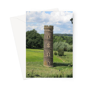 Camo Park Tower, Edinburgh, Scotland Greeting Card