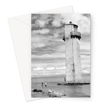 Load image into Gallery viewer, Lighthouse, Ayr, Scotland - Greeting Card