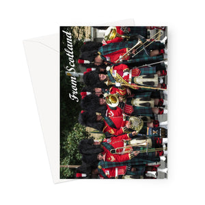 Scottish Pipers Greeting Card
