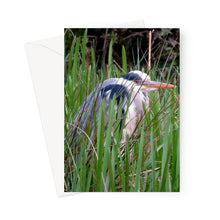 Load image into Gallery viewer, Heron, Scotland - Greeting Card