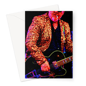 Rock n Roll Greeting Card