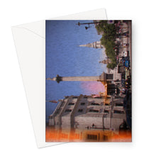 Load image into Gallery viewer, London Retro Greeting Card