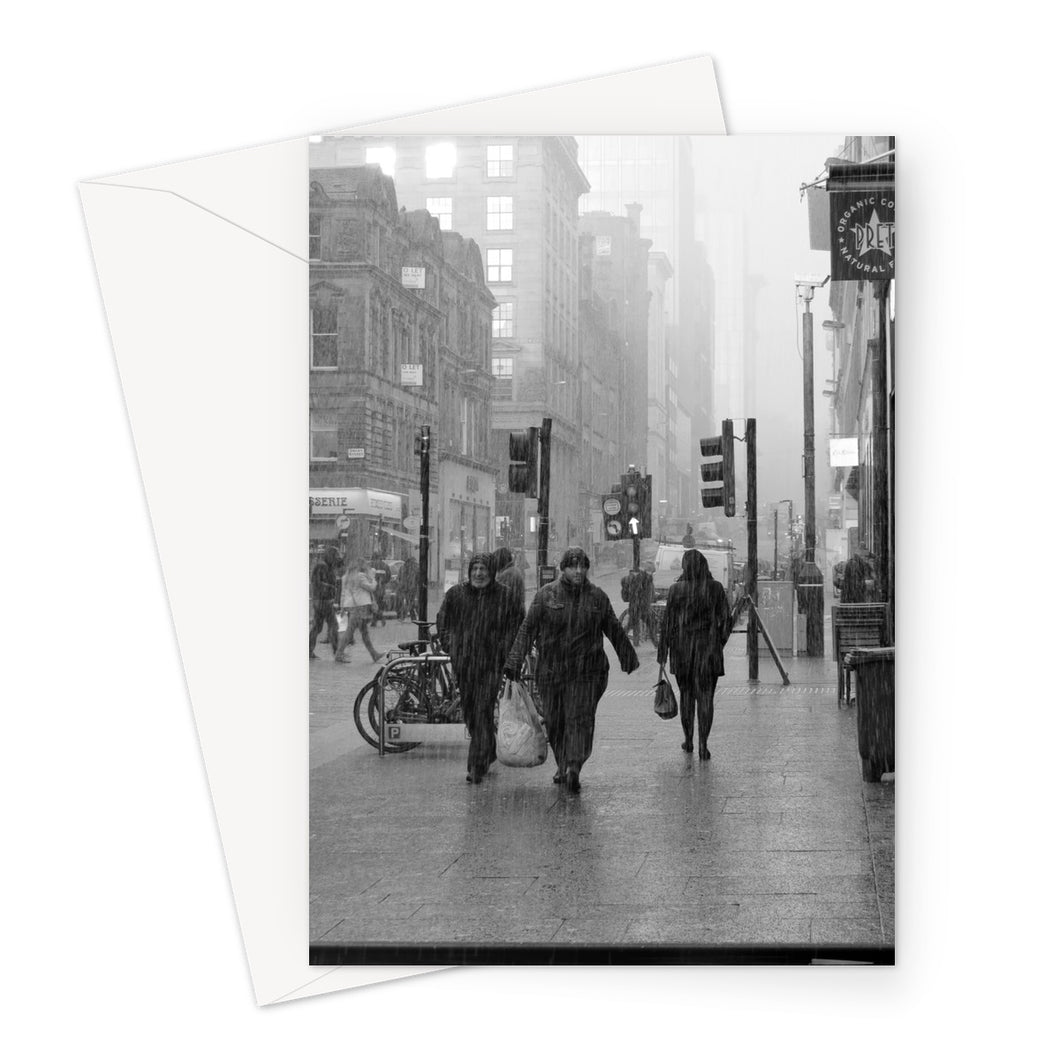 Rainman Greeting Card