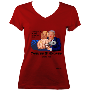 Thieves & Whores - V-Neck