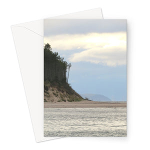 Waters Edge, Scotland Greeting Card