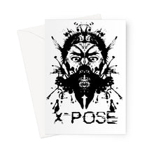 Load image into Gallery viewer, X-Pose Greeting Card