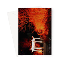 Load image into Gallery viewer, Botanic Chinese Lights Red Greeting Card
