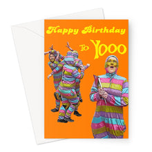 Load image into Gallery viewer, Zany Birthday Greeting Card