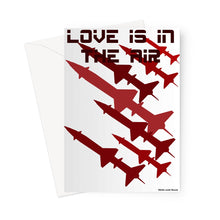 Load image into Gallery viewer, Love Is In The Air Greeting Card