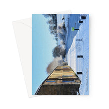Load image into Gallery viewer, Union Canal Keyside in Winter Greeting Card