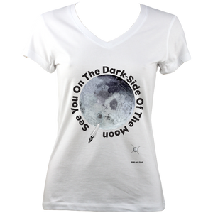 See You On The Dark Side Of The Moon - V-Neck