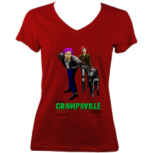 Load image into Gallery viewer, Welcome to Crampsville - V-Neck