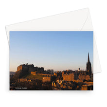 Load image into Gallery viewer, Edinburgh Castle Greeting Card