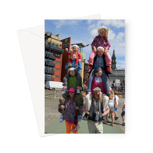 Funny Family Greeting Card