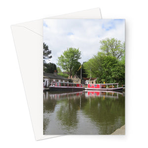 Linlithgow Canal Basin - Greeting Card