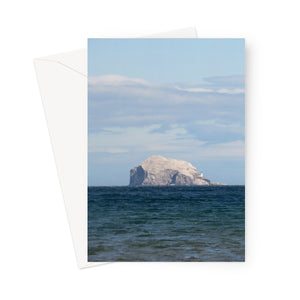Berwick Rock, Scotland - Greeting Card