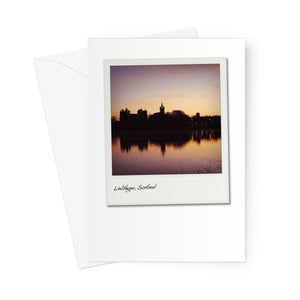Linlithgow Palace Polaroid Greeting Card