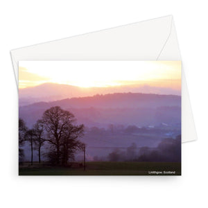 Linlithgow Purple Haze Greeting Card