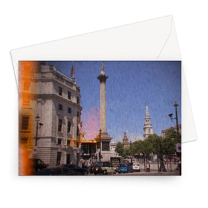 London Retro Greeting Card