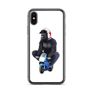 Gorilla Biker - iPhone Case