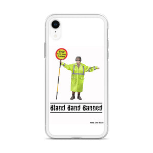 Bland Band Banned - iPhone Case