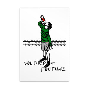 Soldier of Fortune Postcard