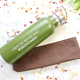 Stainless Steel 21 oz Water Bottle