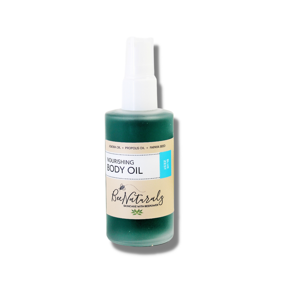 Body Oil - Blue Zest