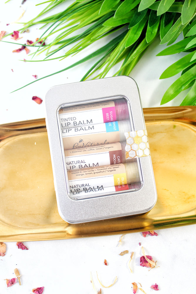 Lip Balm - Sampler Pack Gift Tin