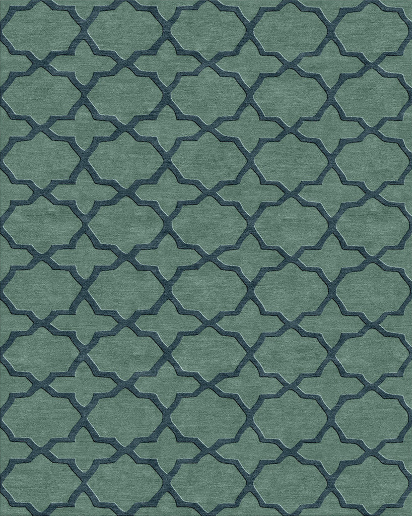Moroccan: Abode Blue Green