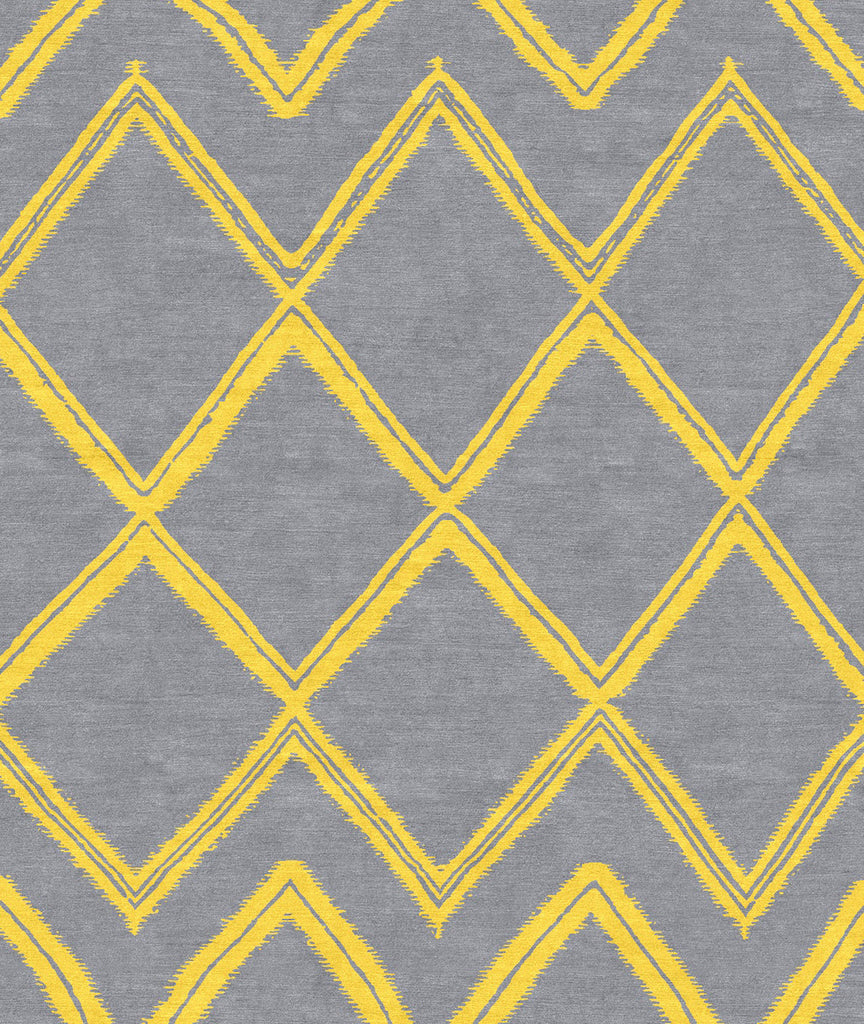 Moroccan: Weaves Grey/Lemon